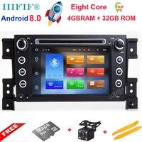 Android 8.0 Octa Core CPU 4GB RAM 32GB Flash Car DVD For SUZUKI GRAND VITARA 2005 2015 Radio GPS Navigation Stereo 4G SIM LTE