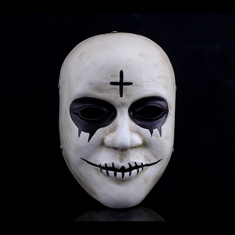 the purge anarchy 2 style mask new halloween fancy dress horror killer cross props purge masked. Black Bedroom Furniture Sets. Home Design Ideas