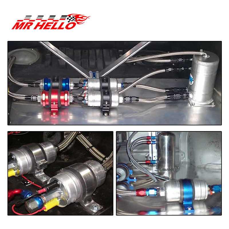 JKdreamer двойное крепление насоса топлива кронштейн 60 мм и топливный фильтр зажим 50 мм Колыбель для автомобиля модифицированный TK-CA747K2