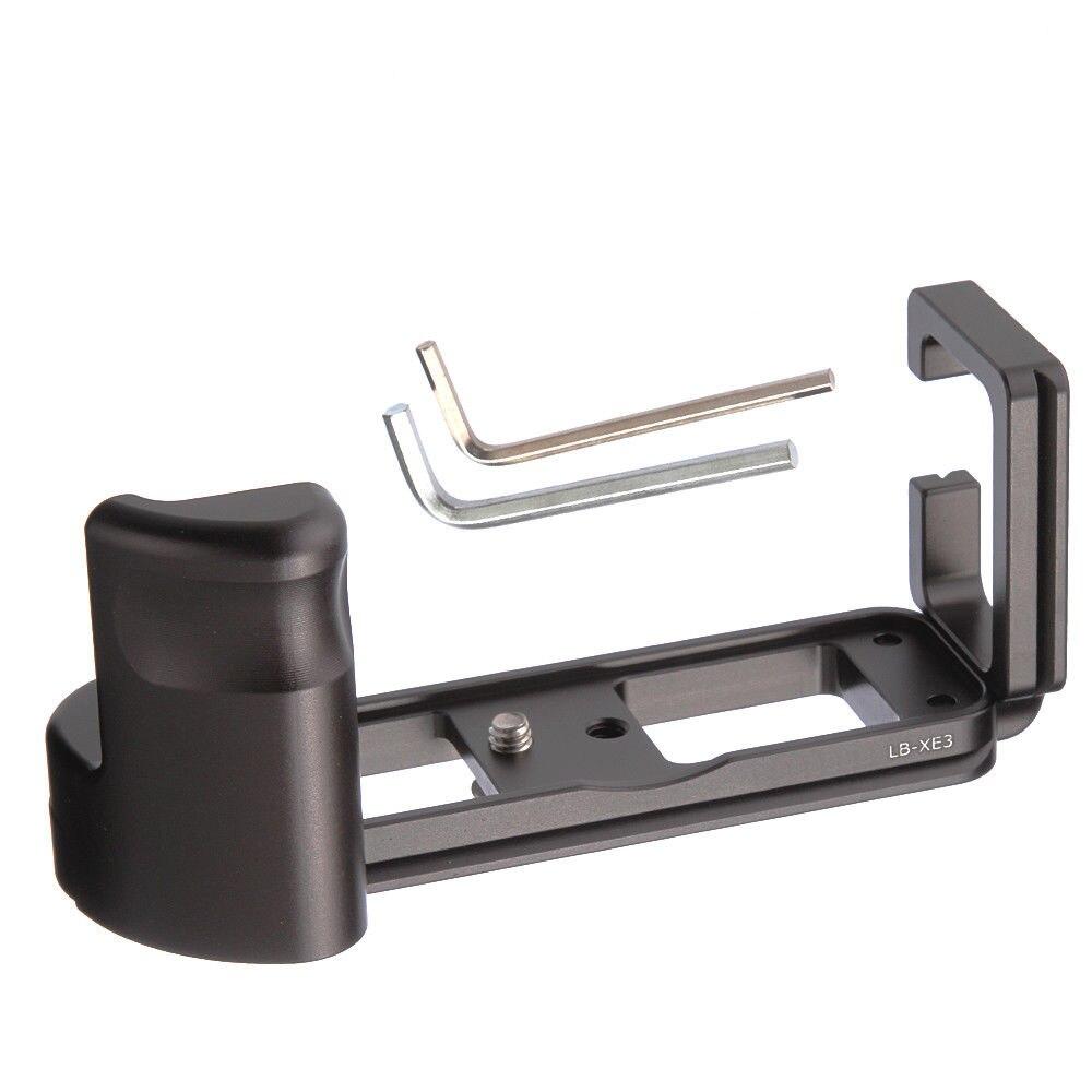 LB-XE3 Hand Grip QR Quick Release L Plate Bracket Holder for Fujifilm Fuji X-E3 XE3 Camera