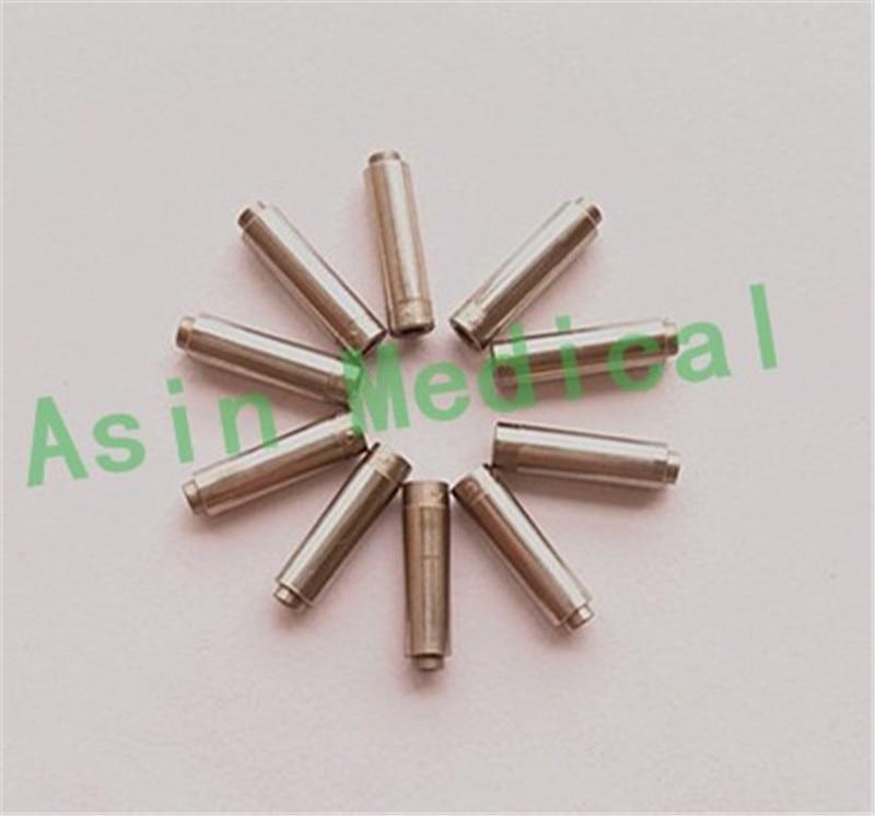 5pcs 12.8mm Bouton-poussoir dentaire Pièce à main dentaire Arbre - Hygiène de la cavité buccale