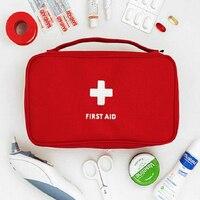 Продвижение аптечка Большой Автомобиль Аптечка большой набор для экстренных ситуаций сумка для путешествий кемпинга для выживания, медици...