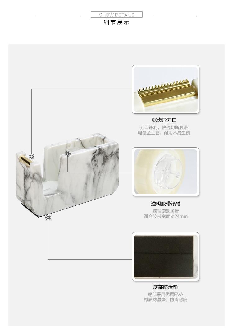 de Papelaria Assento Plástico Dispensador de Fita Adesiva Washi Dispenser
