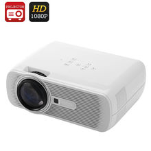 Portable Full HD 1080P Projector HDMI Game PC Video Home Theater Cinema TV LED Digital Mini Projetors Proyector 3D Beamer BL80
