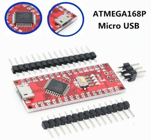 Nano Micro USB With The Bootloader Compatible Nano 3.0 Controller CH340 USB Driver 16Mhz Nano V3.0 ATMEGA168P For Arduino
