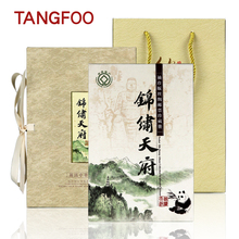 Silk clear Stamps Album Creative souvenir book Chinese Sichuan landscape special tourism foreign culture  Art and collection