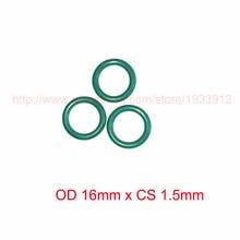 OD 16mm x CS 1.5mm fkm viton rubber o type o-ring cord oring ring seal