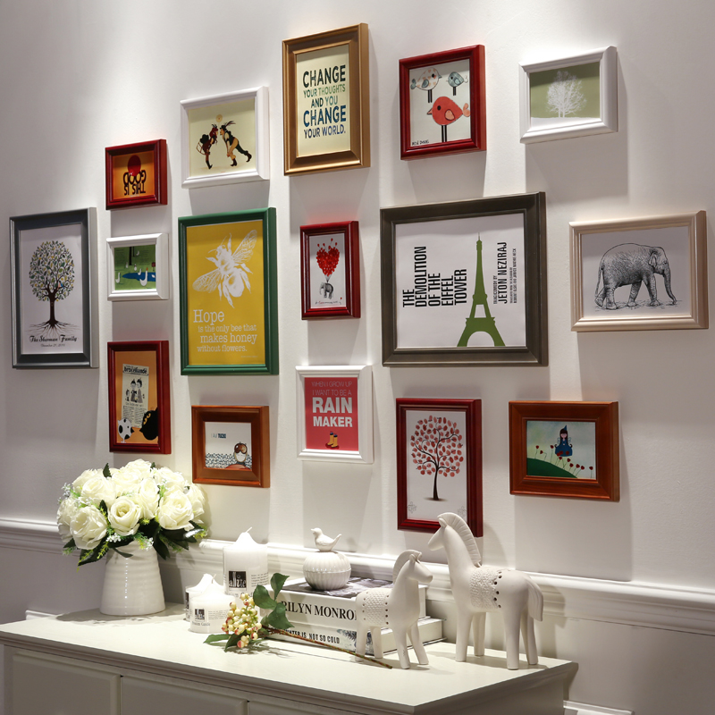 Wall Photo Frames Collage popular frame collage wall-buy cheap frame collage wall lots from