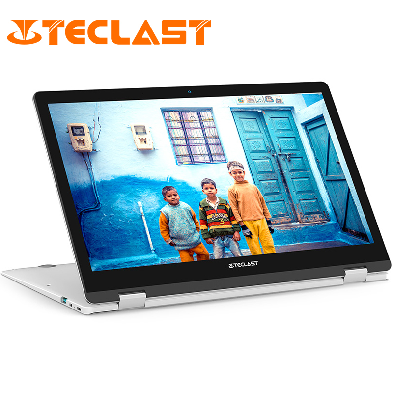 "Teclast F6 Pro Laptop 13.3"" Touch Screen Windows 10 Intel Core m3-7Y30 Dual Core 8GB RAM 128GB SSD 1920*1080 Notebook Micro HDMI(China)"