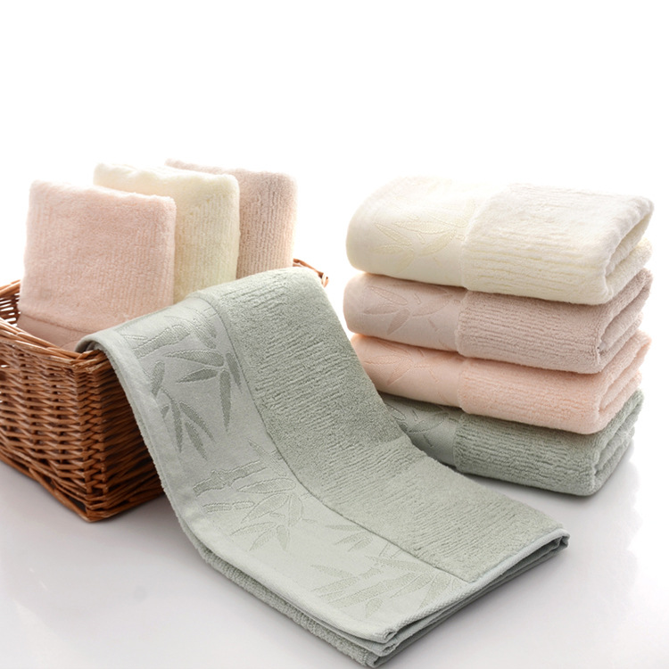 34x74cm Bamboo Fiber Solid Color Absorbent Hand Towel Wiping Face Towel Quick Drying Bath Towel Bathroom Kitchen Towels Supplies in Face Towels from Home Garden