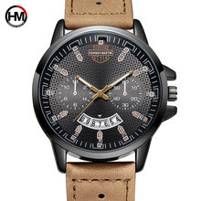 Hanna Martin 2019 Watch Men Riser Vent Frosted Fashion Sport Quartz Clock Top Brand Luxury Waterproof Mens Watches Relogio