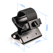 23-26mm Strong Dual Magnetic Flashlight Gun Mount Holder Lighting For Torch Flashlight Hunting X Tactical Mount стоимость