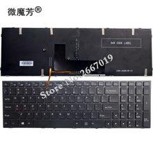 US Backlit New FOR CLEVO P651 P651SE P655 P671 P655SE P671SG P650 P651 P650SA P650SE P651SG Laptop Keyboard