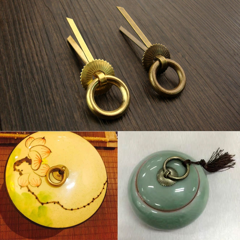 2pcs Retro Metal Kitchen Drawer Cabinet MINI Handle Furniture Knobs Hardware Cupboard Antique Brass Shell Pull Handles 100pcs metal kitchen drawer cabinet door handle furniture knobs hardware cupboard shell pull handles