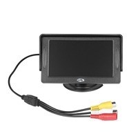 4 3 Inch HD Car Rear View Monitor TFT LCD Color Display Screen Vehicle Security System