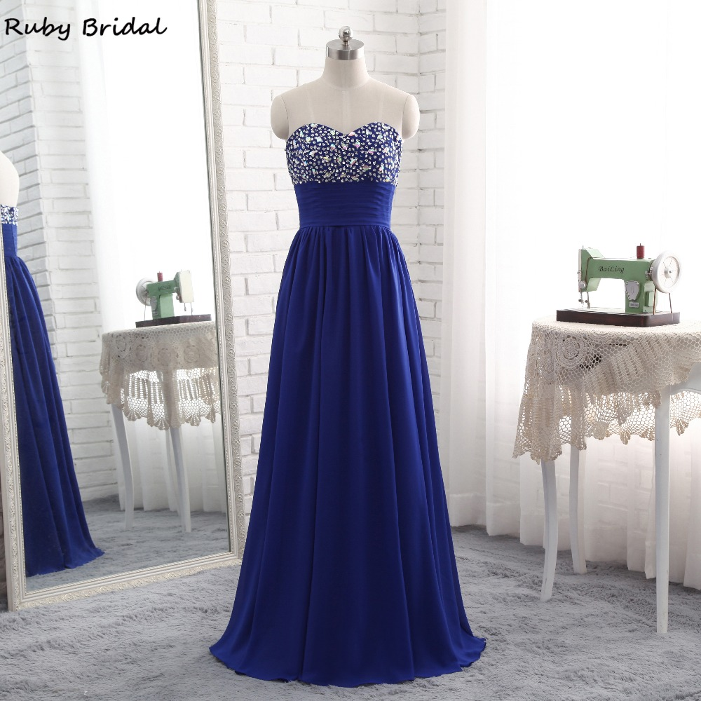 Country Western A Line Cheap Chiffon Bridal Gowns Beaded: Aliexpress.com : Buy Ruby Bridal 2017 Luxury Long A Line