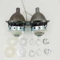 2PCS 3.0'' Bi-xenon HID Projector Lens for Koito Q5 LHD Universal Fast Install H1 H4 H7 H11 9005 9006 Free Shipping