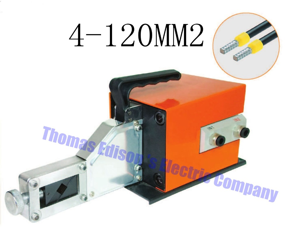 AM120-4 PNEUMATIC CRIMPING TOOLS for Terminals 4-120MM2 CRIMPING PILER Crimping machine crimping square shape saipwell em 16120 mini battery style hydraulic crimper crimping tool terminals 16 120mm2 crimping piler crimping tools big size