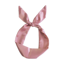 Solid Color Silk Satin Scarf Women Scarves Squares Multifunction Head Scarf Stripe Print Kerchief Neck Shawl Wrap For Female chic bright color stripe pattern voile bib scarf for women