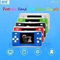 COOLBOY 2.5 polegadas jogo handheld consola RS-1 tela colorida de vídeo game console portátil Mini Inglês menu frete grátis