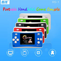 COOLBOY 2.5inch handheld game console RS-1 colorful screen  video game console Mini portable English menu free shipping