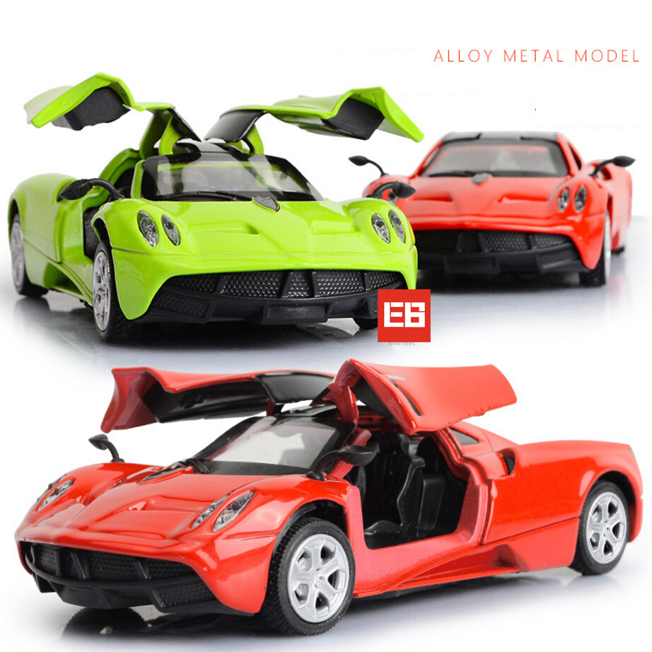 Pagani Back Mini 1 36 Scale Pagani Huayra Metal Model Diecast Super Sports  Car . Pagani Back ...