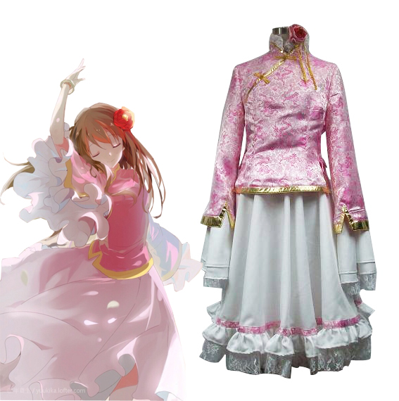 Free Shipping Axis Powers Hetalia China TaiWan Dress Anime Cosplay Costume
