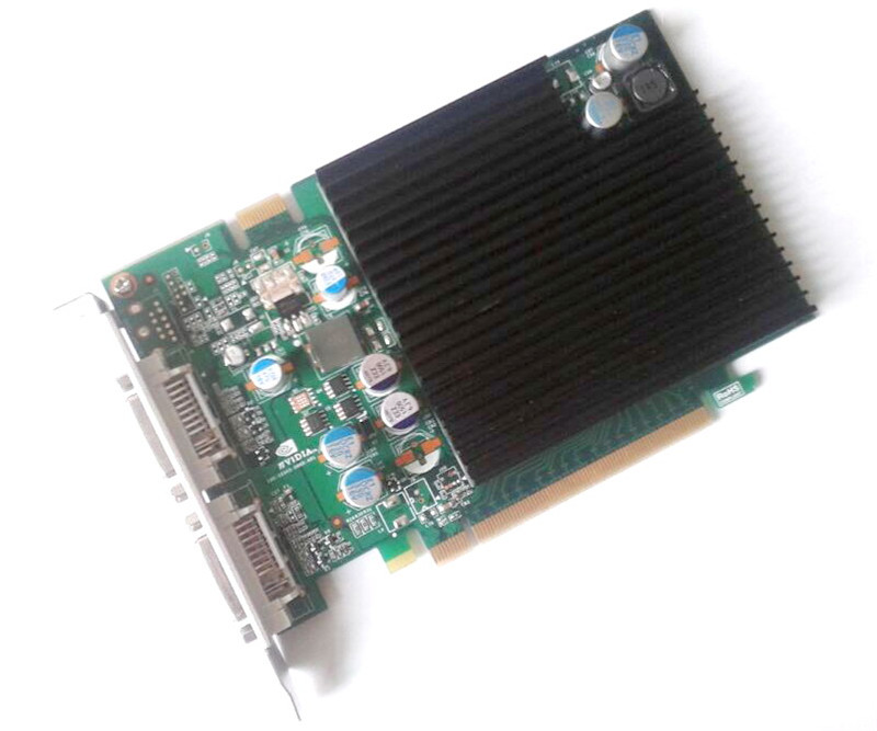 Купить с кэшбэком New Original High Quality for Mac Pro nVidia GeForce 7300GT 256MB MacPro Video Card 1st gen video card have 8800gt