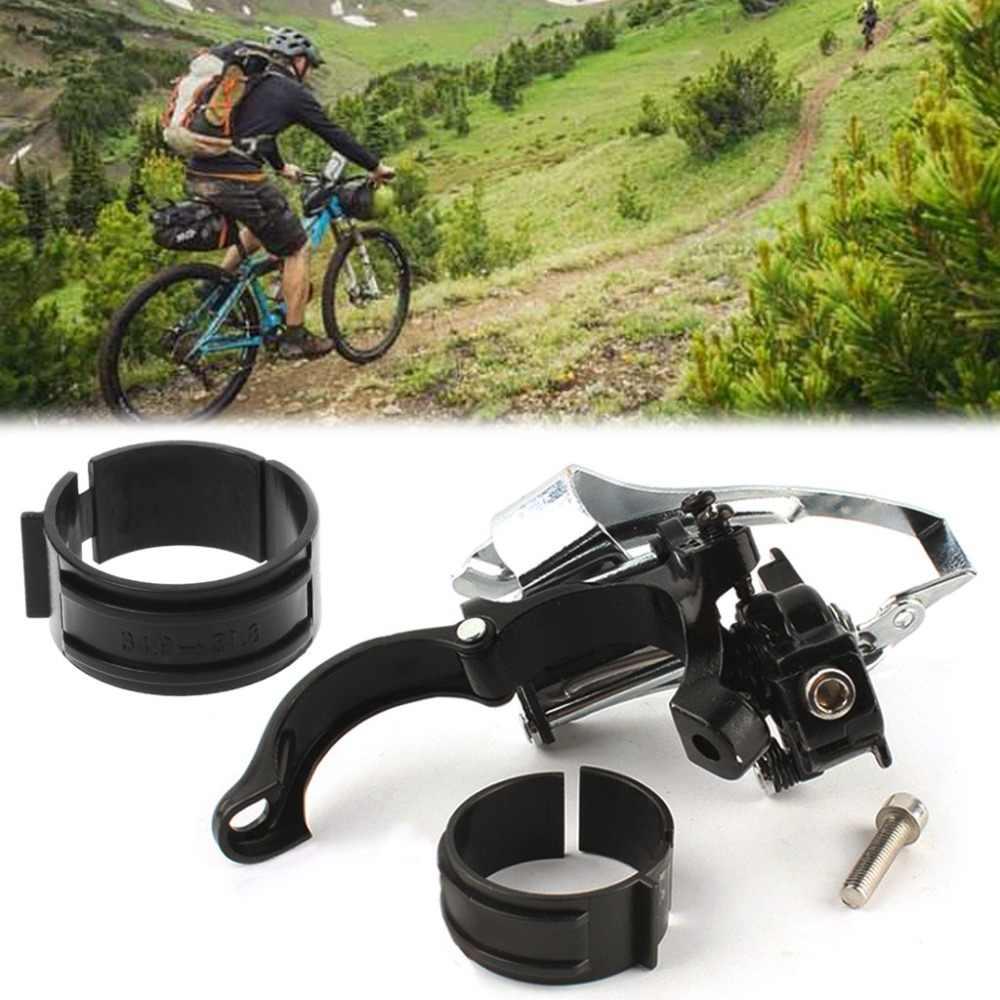 Adaptateur de bague de dérailleur avant de vélo convertit 34.9mm en vélo de montagne vtt 31.8mm