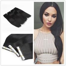 Skin Weft Hair Tape in Hair Brazilian Hair Extension 20pcs/lot#1 #4 #60 #613 PU Hair Extension