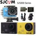 Оригинал SJCAM SJ5000 + Plus  действий камера спорта Ambarella A7 WIFI 1080P камера + Автомобильное зарядное устройство + держатель + дополнительный аккумулятор + зарядное устройство