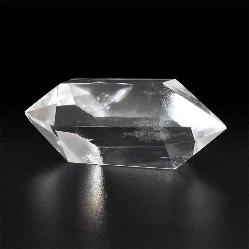 Cristal de quartz blanc irrégulier