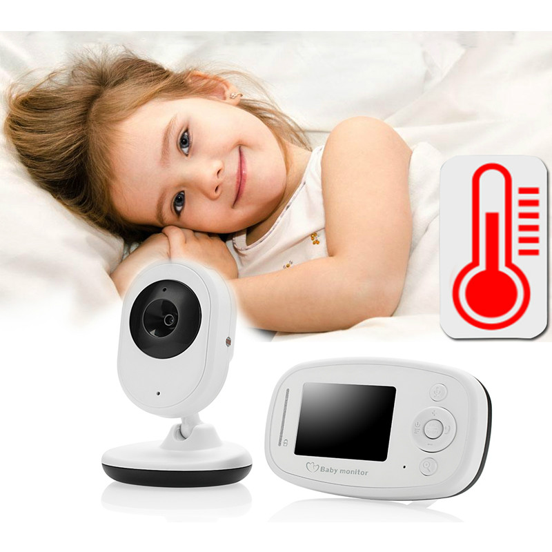 2.4 inch Color Digital Video Wireless baby monitor with camera baba electronic Security 2 Talk Nigh Vision IR LED Temperature baby sleeping monitor color video wireless with camera baba electronic security 2 talk nigh vision ir led temperature monitoring