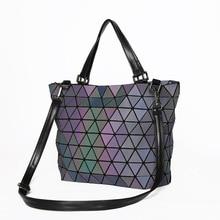 Luggage Bags - Handbags - Large Capacity Diamond Lattice Women Handbag Female Purse BaoBao PU Leather Shoulder Crossbody Tote Bag Women Messenger Bags