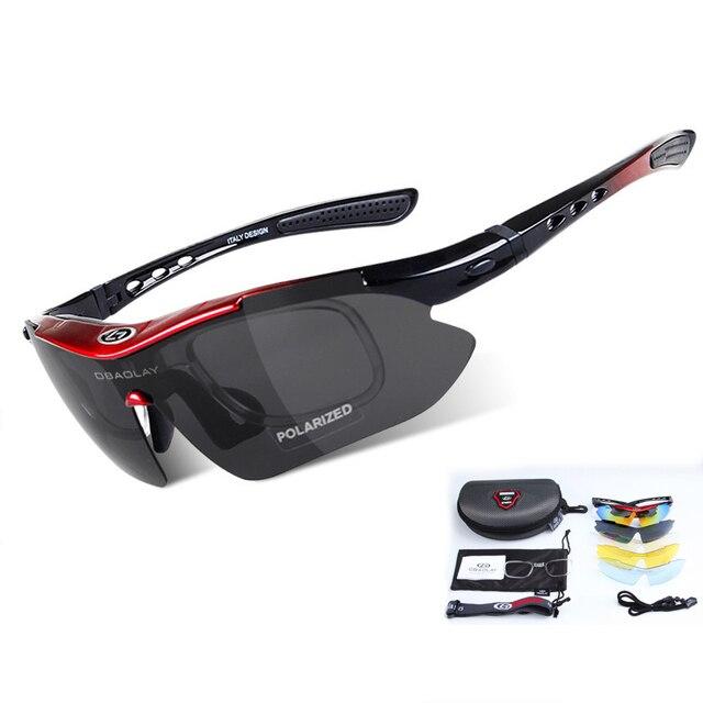 0de897f879 Deporte al aire libre de las mujeres de los hombres gafas de Ciclismo de  UV400 polarizado
