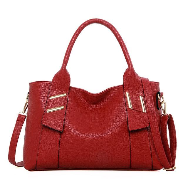 2016 Summer New Arrival Fashion Women Totes High Quality Leather Zipper Handbag Crossbody Bags Bolsas Femininas
