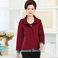 2017 женщин среднего возраста, clothing embroidery jacket xinda ярдов мать весна пальто P2017010246