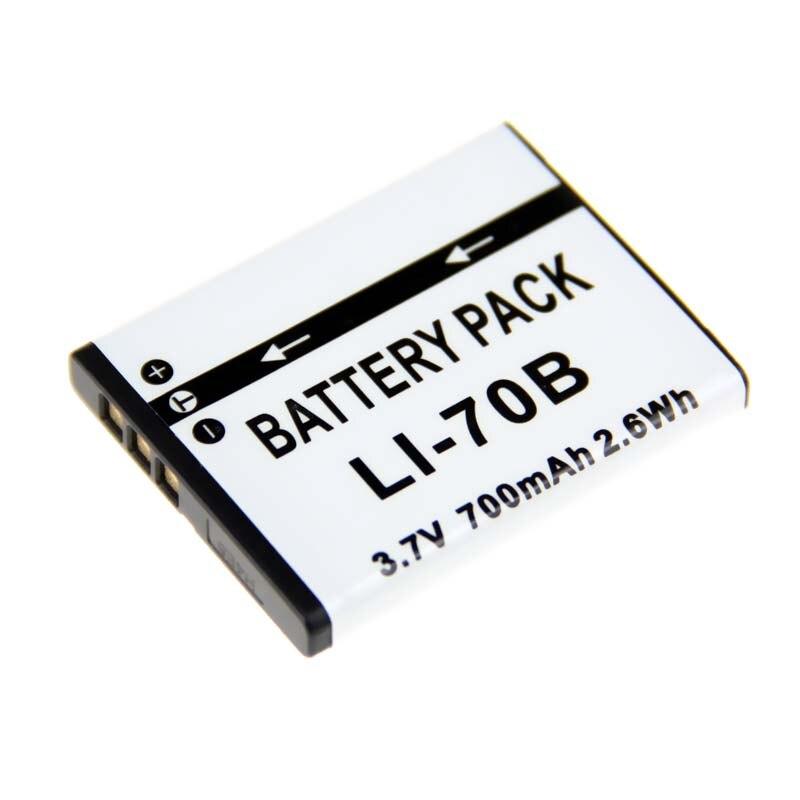 Цифровой мальчик 3.7 В 700 мАч LI-70B li 70b LI-70B Батарея для <font><b>Olympus</b></font> fe-4020 FE-4040 x-940 Камера высокое качество Камера Батареи