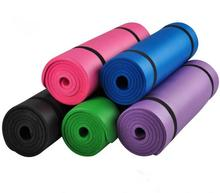 10mm Thick exercise Yoga Mat Pad Non-Slip Lose Weight Exercise Fitness folding gymnastics mat