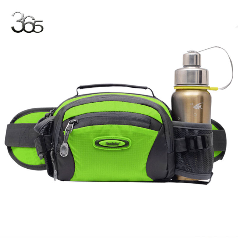 Free Ship  2017 Hot Selling ! New Unisex Women Men Waist Fanny Pack Bum With Water Bottle Holder Riding Waist Bag