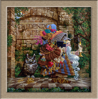 James C Christensen The Oldest Professor HD Print Oil Painting Wall Painting Wall Art Picture For