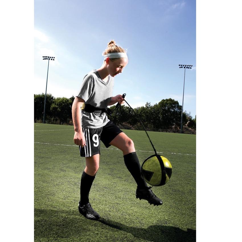 Professionel kick fodboldtræner bælte fodbold praksis elastisk - Holdsport - Foto 3