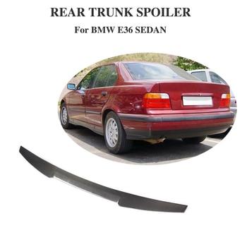 Rear Spoiler for BMW 3 Series E36 Sedan 1991 - 1998 Carbon Fiber Trunk Lip Wing Protector Boot Lid