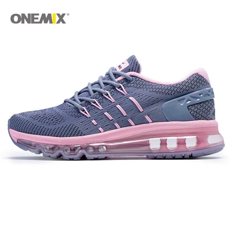 ONEMIX Air 270 femmes respirant course chaussures de plein Air Sport confortable à lacets Durable Jogging Max 950 baskets