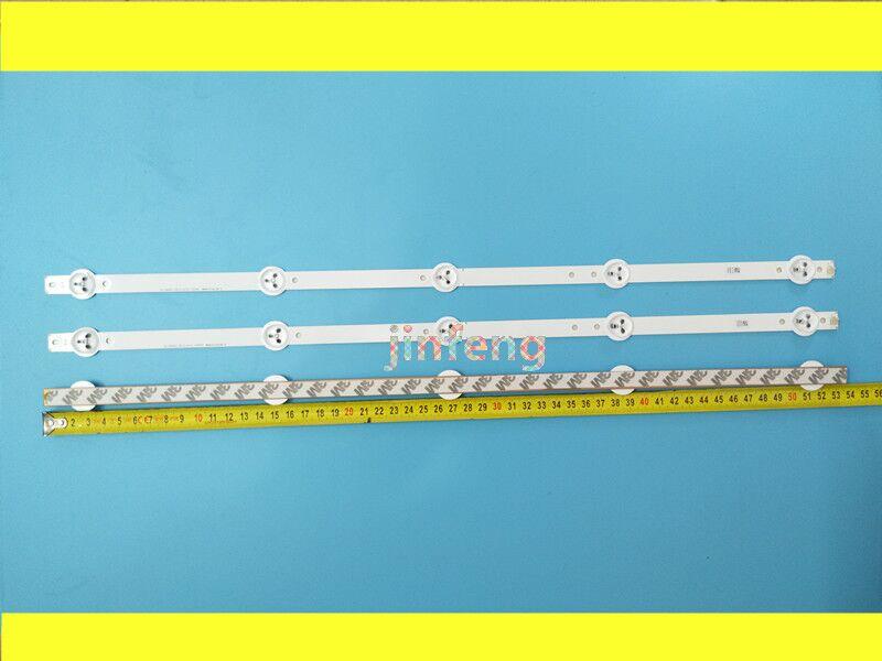 New 5set 15 PCS 5LEDs 530mm LED backlight strip for 28inch TV L2830HD 28C2000B SVJ280A01 REV3