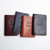 LANSPACE Men S Leather Passport Case Handmade Coin Purses Holders Famous Brand Passport Cover