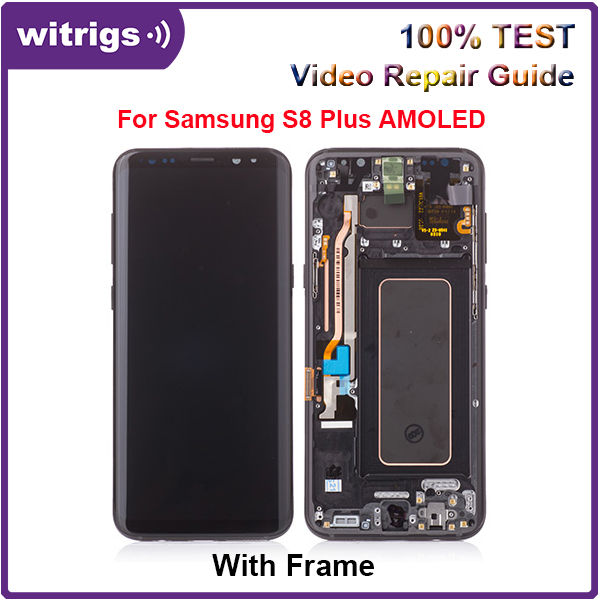 Witrigs Für <font><b>SAMSUNG</b></font> <font><b>GALAXY</b></font> <font><b>S8</b></font> Plus G955 LCD Display Touchscreen Digitizer Ersatz image