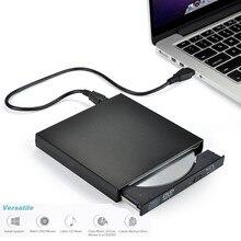 KuWfi USB2.0 Внешний Blu-Ray DVD диск компактный Пишущий привод горелка играть 3D фильм для WINDOWS XP/7/8/10 оптический привод