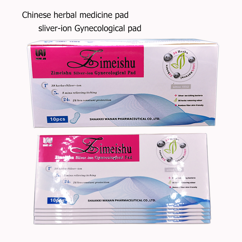 100% Chinese Medicine Pad Swabs Women Health Medicated Anion Pads Women