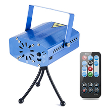 LED Projector Laser Lights Sound Activated Auto Flash Led Stage Lights for DJ Disco Party Home